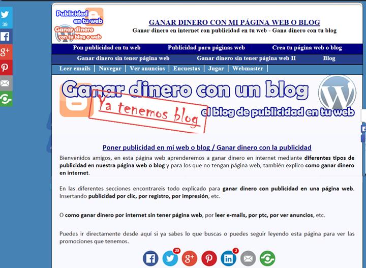 el blog en 2014